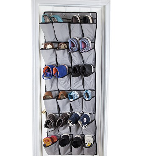 Over The Door Shoe Organizers, Hooks, Racks, Pockets And Other 28 Over-the-Door Accessories to Optimize Storage Space