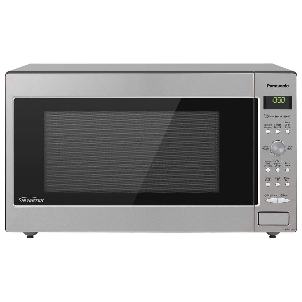 Panasonic NN-SN966S 1250 Watts Countertop Microwave Oven